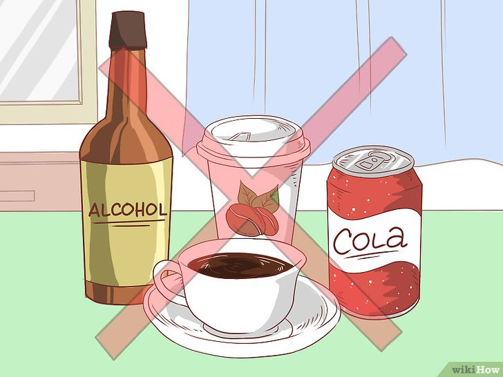 Нет кофе и алкоголю